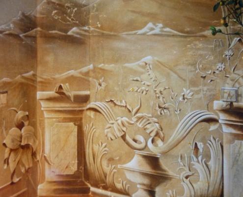 Peinture en monochrome / France - Alain Grand Peintre décorateur